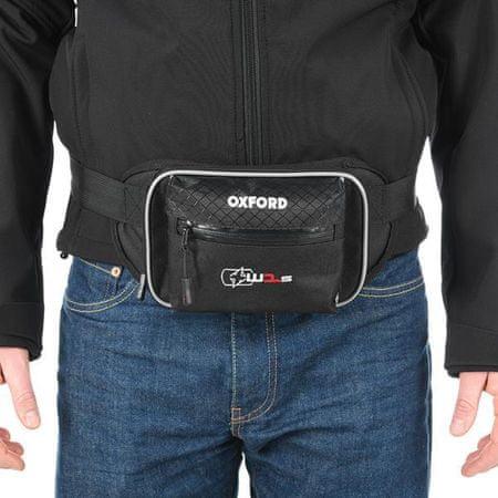 Oxford torbica za oko struka XW1, crna