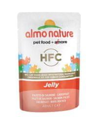 Almo Nature HFC Jelly losos v želé 24x55 g