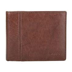Lagen Pánska hnedá kožená peňaženka Brown PW-521-2