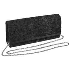 Barolo Čierna listová kabelka 1634