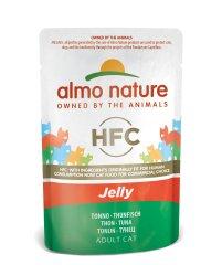 Almo Nature HFC Jelly Tuniak v želé 24x55 g