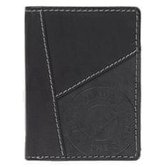 Lagen Pánska kožená peňaženka 51145 BLK
