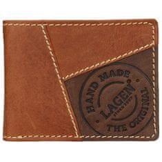 Lagen Pánska kožená peňaženka 51148 TAN