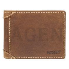 Lagen Pánska kožená peňaženka 511461 TAN