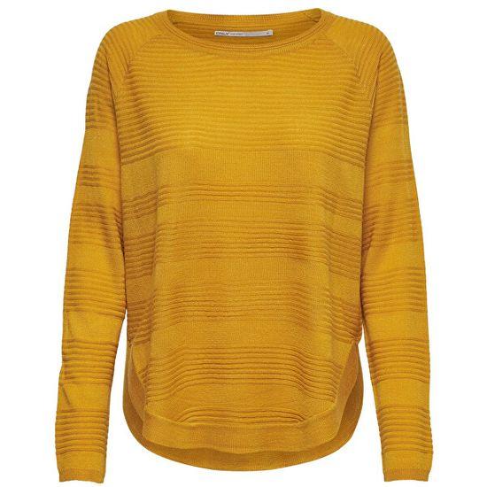 ONLY Dámský svetr ONLCAVIAR 15141866 Golden Yellow (Velikost S)