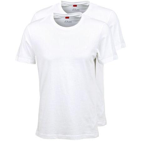 s.Oliver 2 PACK - férfi póló 03.899.32.2499-0100 (méret L)