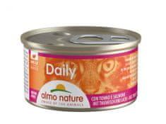 Almo Nature Daily Pena s tuniakom a lososom 24x85 g