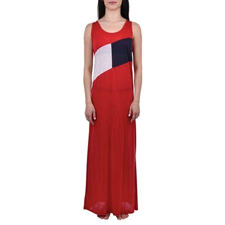 Tommy Hilfiger Női ruhaClb Tank Dress Tango Red UW0UW01525-611 (méret M)