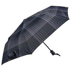 Bugatti Pánský skládací plně automatický deštník Buddy Duo 744367002BU