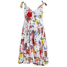 VILA Dámske šaty Viavian S/L Dress/Ka Pristine