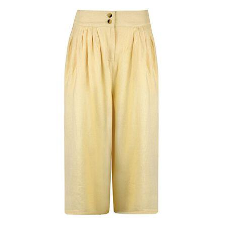 Vero Moda Damskie Malli Coco Hw Pant Wvn Ki Mellow Yellow (Rozmiar L)