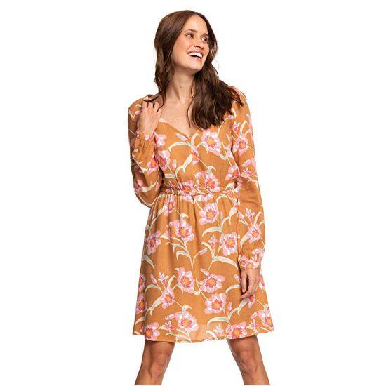 ROXY Dámske šaty Heatin Up Chipmunk Surfin Love ERJWD03357-CMW6 (Veľkosť S)