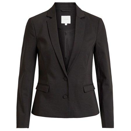 VILA Ženska jakna Adelia New Blaze r-Noos Black (Velikost 34)