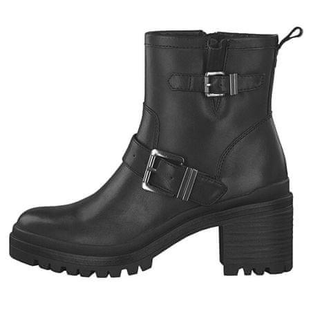 Tamaris Damskie botki 1-1-25419-23-001 Black (rozmiar 38)