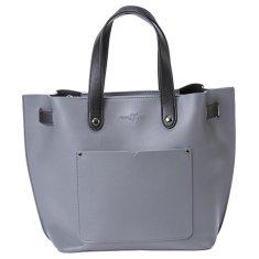 MEATFLY Dámská kabelka Alma 4 Dark Grey, Black