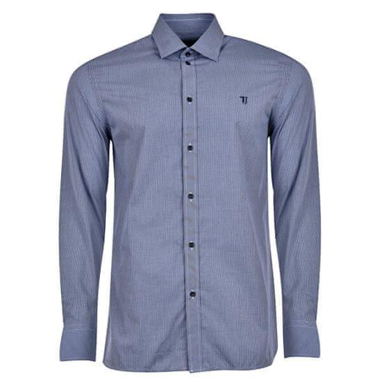 Trussardi Pánská košile Miami Collar 52C00111-U290 Navy Blue (velikost M)