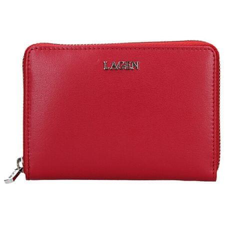 Lagen Női bőr pénztárca 50309 Red