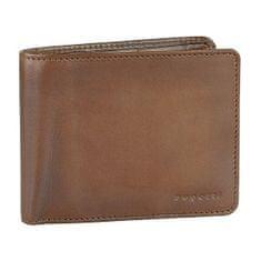 BUGATTI Férfi bőr pénztárca Domus RFID 49322907 Cognac