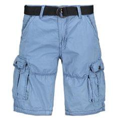 Cars-Jeans Pánske kraťasy Durras Short Cotton Grey Blue 4048671