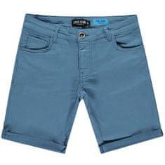 Cars-Jeans Pánske kraťasy Tuck Short Grey Blue 4119271