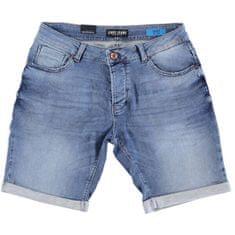 Cars-Jeans Pánske kraťasy Atlanta Denim Stone Used 4336706