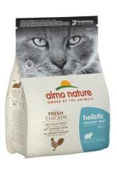 Almo Nature Holistic Urinary Help pre zdravé močové cesty s čerstvým kuraťom 2 kg