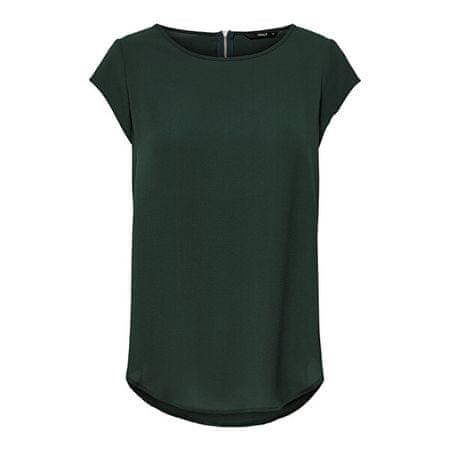 ONLY Női Vic blúz Solid Top Noos Wvn Green gables (méret 34)