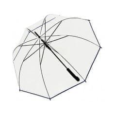 Doppler Damski parasolka wyrzucająca Hit Hit Long Automatic transparent Glocke 77354B 03
