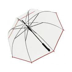 Doppler Damski parasol wyrzucający stick Hit Long Automatic transparent Glocke 77354B 02