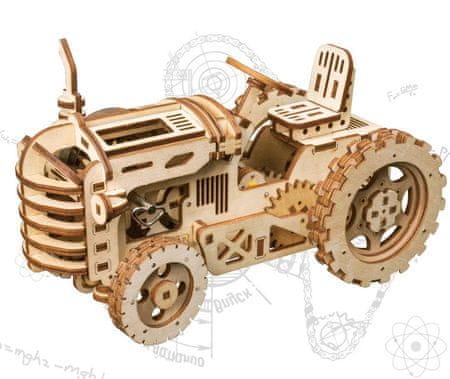 Model do składania - Traktor (drewniany)