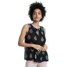 Desigual Ženska bluza Blus Julie Negro 20SWBW11 2000