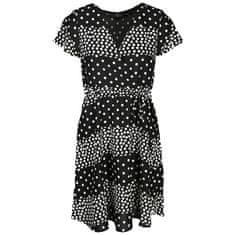 Smashed Lemon Dámské šaty 20037 Black-White
