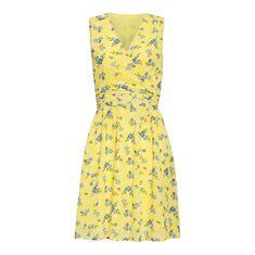 Smashed Lemon Dámské šaty 20069 Yellow/L. Blue