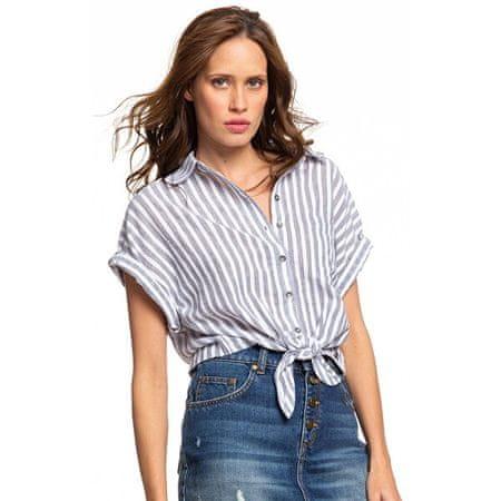 ROXY Damska koszula Full Time Dream Mood Indigo Lago z Stripe s ERJWT03385-XWBW (Wielkość S)