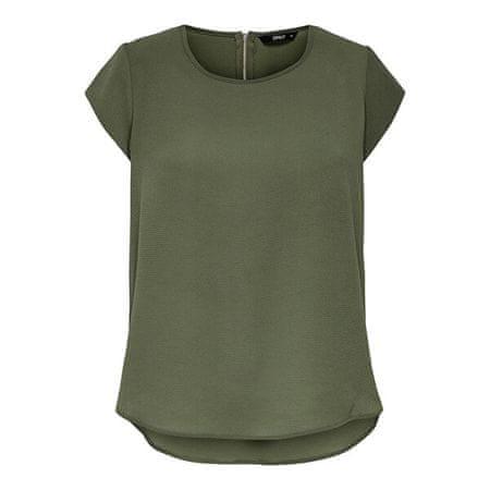 ONLY Ženska bluza ONLVIC 15142784 Kala mata (Velikost 44)
