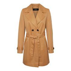 Vero Moda Női kabát VMBERTA 3/4 JACKET COL Tobacco Brown