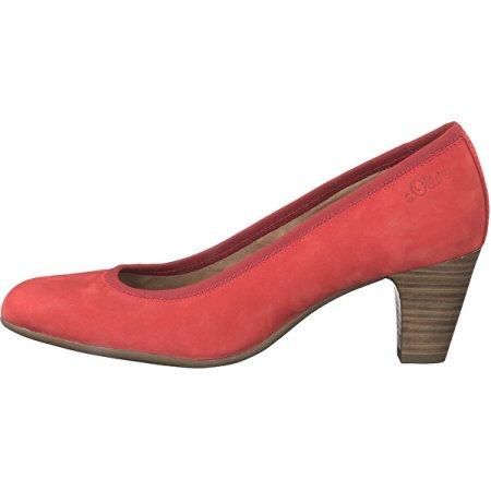 s.Oliver Ženske črpalke 5-5-22425-24-500 Rdeča (Velikost 38)