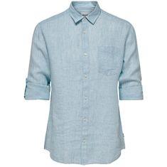 ONLY&SONS Pánská košile ONSLUKE 22013258 Cashmere Blue
