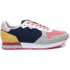 XTI Dámské tenisky Navy Textile Ladies Shoes 49820 Navy