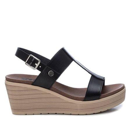 XTI Sandały damskieBlack Sandały Ladies Pu 49868Black (Wielkość 38)