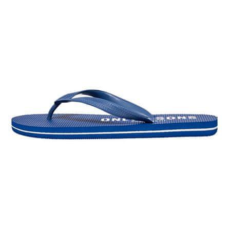ONLY&SONS Férfi flip-flop papucs ONSFLIPFLOP LOGO SONS Dark Blue CLOUD DANCER (Méret 44-45)