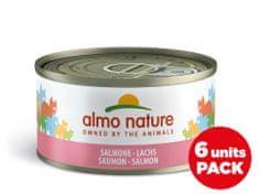 Almo Nature HFC Megapack Losos v želé 6 x 70 g
