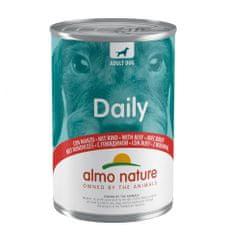 Almo Nature Daily Menu WET DOG s hovädzím 24 x 400 g