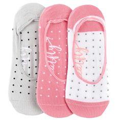 MEATFLY 3 PACK - dámské ponožky Low socks S19 A/Small Dots