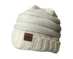 ORSI Zimní čepice pletená světle béžová