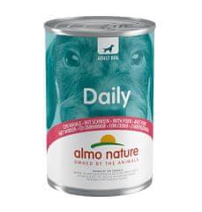 Almo Nature Daily Menu WET DOG s bravčovým 24 x 400 g