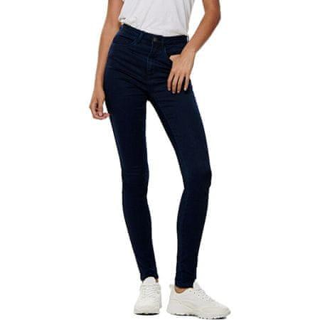 ONLY Jeansy damskie skinny ONLROYAL 15093136 DarkBlueDenim (Wielkość XS/32)