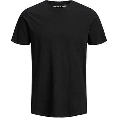 Jack&Jones Férfi póló JJEORGANIC BASIC TEE 12156101 Black SLIM (Méret XXL)