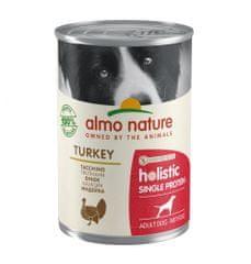 Almo Nature 100 % single proteín morčacie 24 x 400 g