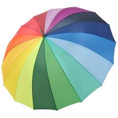 Doppler Dámský holový deštník Hit Golf Rainbow 71530R